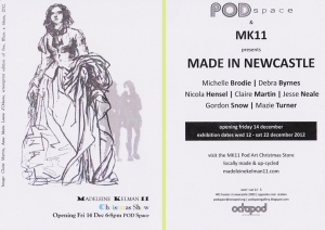 invite to Made in newcastle 001web2