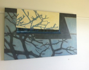 Claire Martin work 'Frangipani' awarded in the Mosman Art Prize